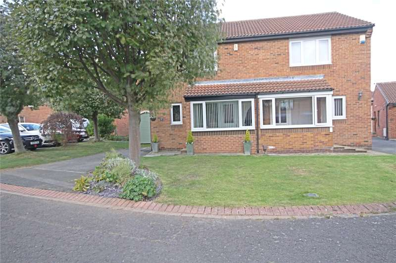 2 Bedrooms Semi Detached House for sale in Nairn Close, Darlington, Co Durham, DL1