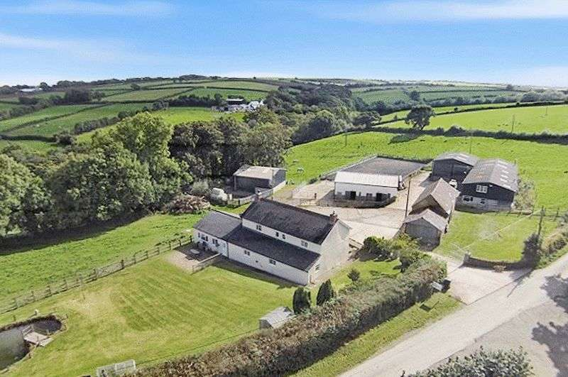 3 Bedrooms Detached House for sale in Northlew, Devon. EX20 3NF
