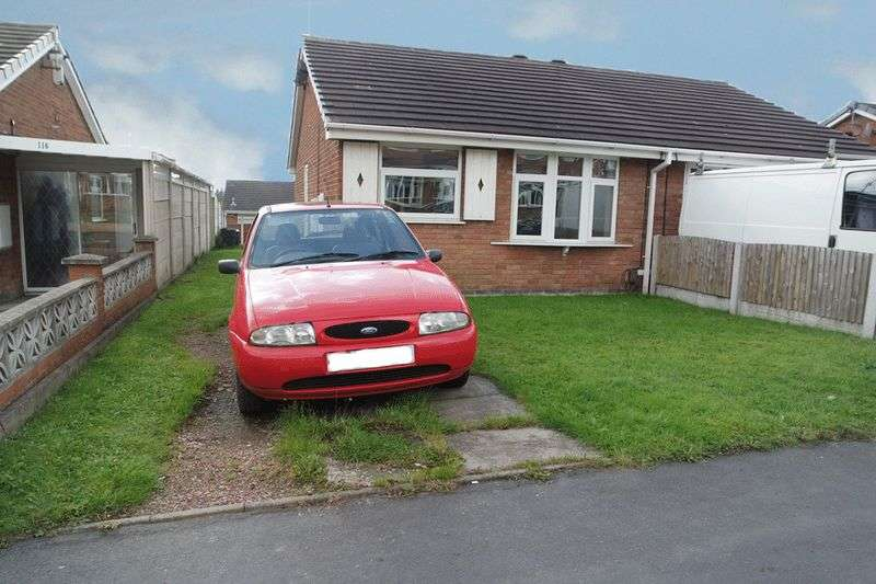 1 Bedroom Semi Detached Bungalow for sale in Forrister Street, Meir Hay, Stoke-On-Trent, ST3 1SP