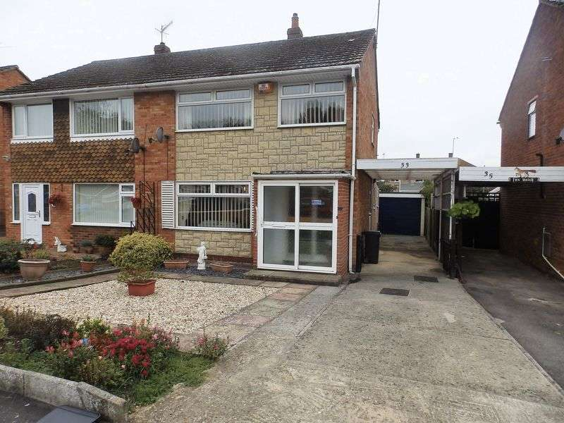 3 Bedrooms Semi Detached House for sale in Kennet Avenue, Greenmeadow