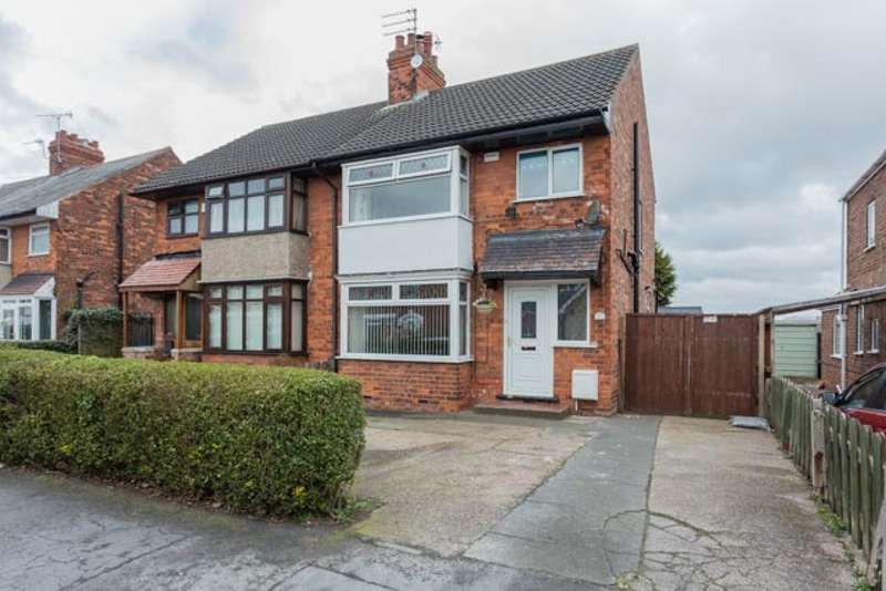 3 Bedrooms Semi Detached House for sale in Golf Links Road, Hull, East Yorkshire, HU6