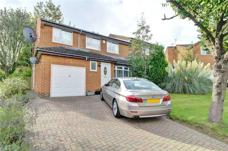 4 Bedrooms Semi Detached House for sale in Langton Lea, High Shincliffe, Durham, DH1