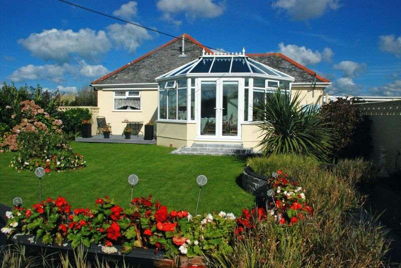 3 Bedrooms Detached Bungalow for sale in West Downs, Delabole
