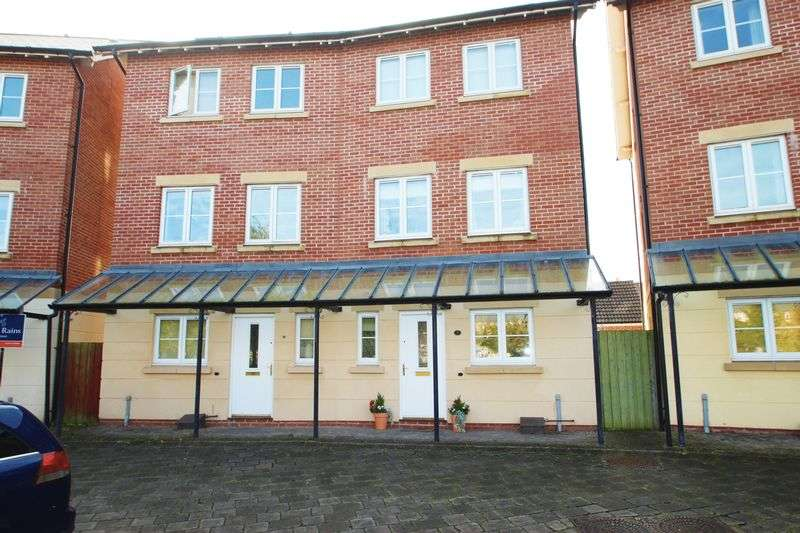 4 Bedrooms Semi Detached House for sale in Fitzroy Circus, Portishead