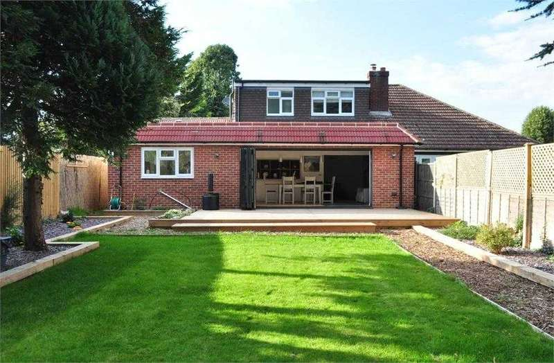 4 Bedrooms Semi Detached House for sale in Meadowcroft, Cotswold Close, Staines-upon-Thames