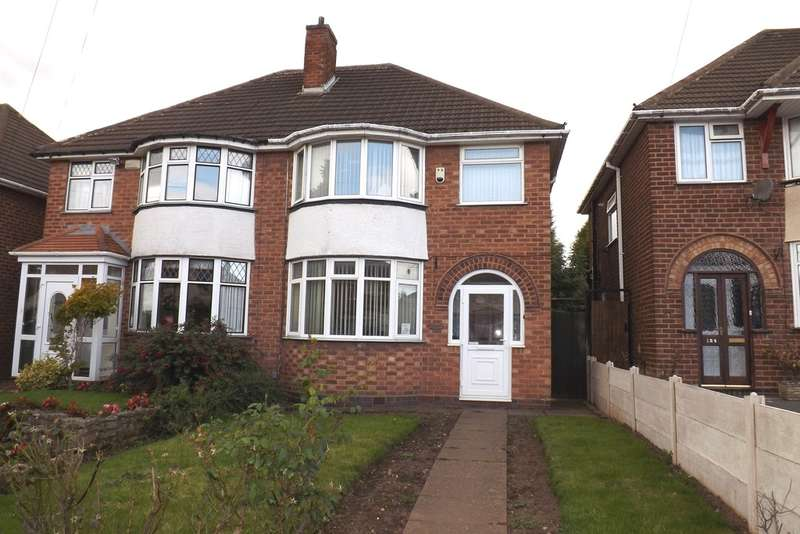 3 Bedrooms Semi Detached House for sale in Glenmead Road, Birmingham