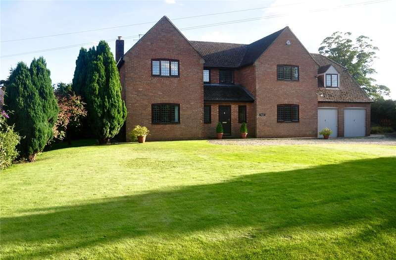 5 Bedrooms Detached House for sale in Beckhampton, Marlborough, Wiltshire, SN8
