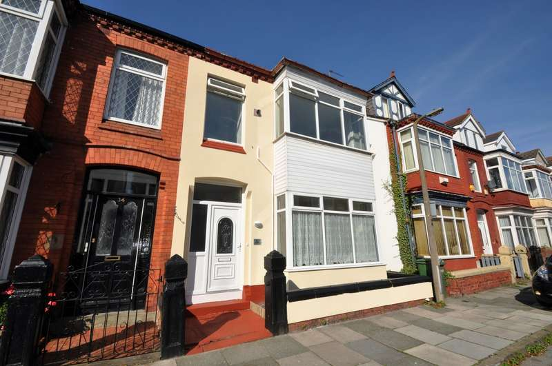 4 Bedrooms House for sale in Parkside, Wallasey