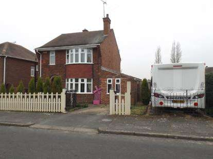 3 Bedrooms Detached House for sale in Edmonton Road, Clipstone Village, Mansfield, Nottinghamshire