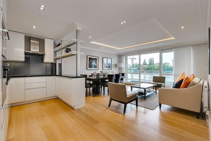 4 Bedrooms Flat for sale in King Henry's Reach, Manbre Road, London, W6
