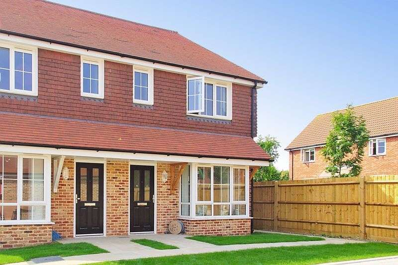 3 Bedrooms Semi Detached House for sale in Bucksham Place, Bucksham Avenue, North Bersted, PO21