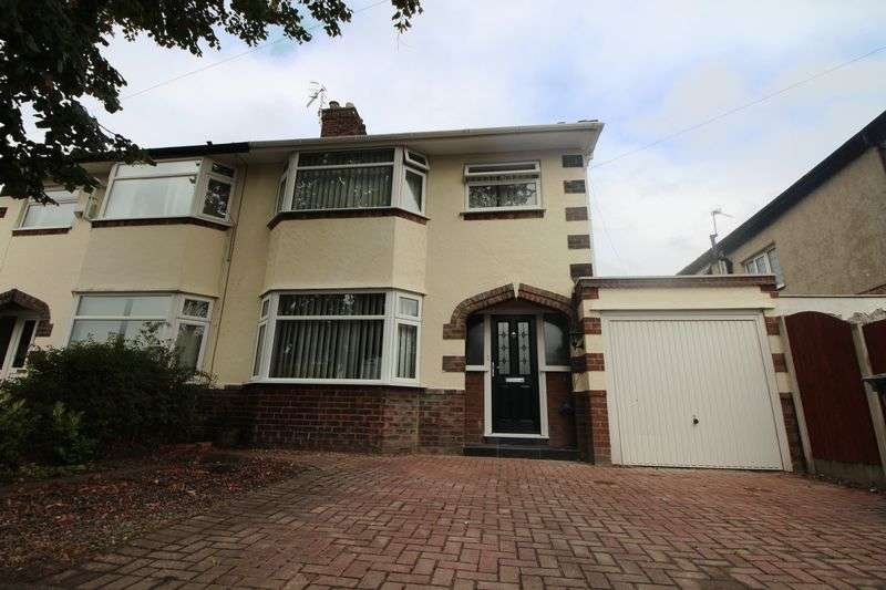 4 Bedrooms Semi Detached House for sale in Holly Avenue, Bebington