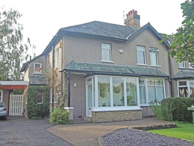 3 Bedrooms Semi Detached House for sale in Prospect Drive, Hest Bank, Lancaster