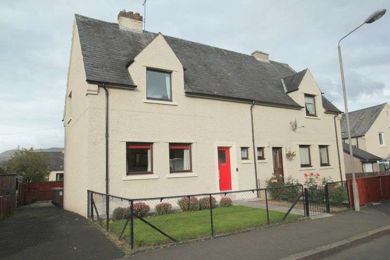 2 Bedrooms Semi Detached House for sale in Hillcrest Drive, Alloa