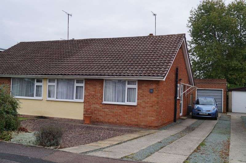 2 Bedrooms Semi Detached Bungalow for sale in Mayfield Drive, Hucclecote, Gloucester