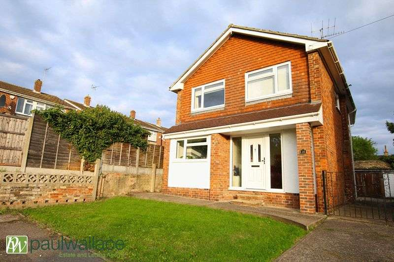 4 Bedrooms Detached House for sale in Rainer Close, Cheshunt