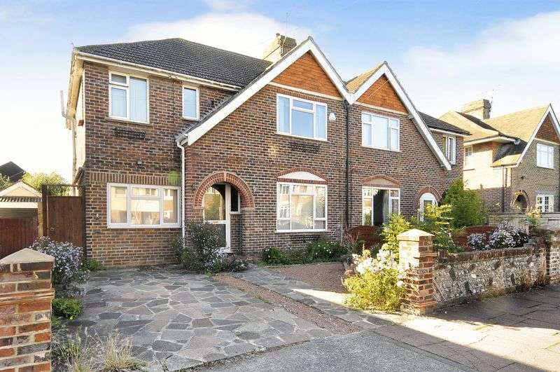 4 Bedrooms Semi Detached House for sale in Bramley Road, Worthing