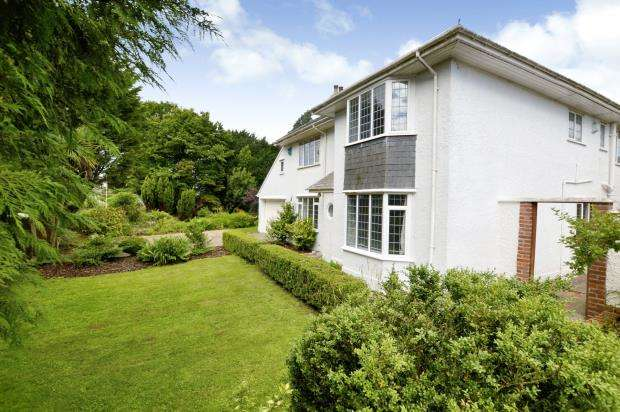5 Bedrooms Detached House for sale in Springfield Road, Plymouth, Devon