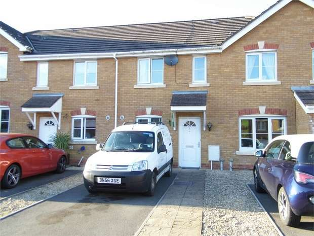 2 Bedrooms Terraced House for sale in Cwrt Pant Yr Awel, Lewistown, Bridgend, Mid Glamorgan