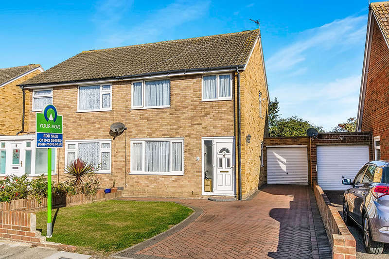 3 Bedrooms Semi Detached House for sale in Windermere Avenue, Ramsgate, CT11
