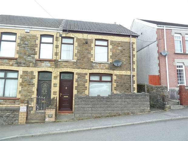 3 Bedrooms Semi Detached House for sale in Cemetery Road, Maesteg, Maesteg, Mid Glamorgan