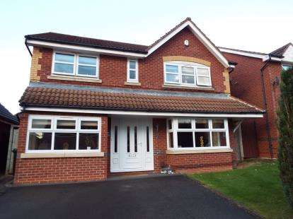 4 Bedrooms Detached House for sale in Coltsfoot Road, Hamilton, Leicester, Leicestershire