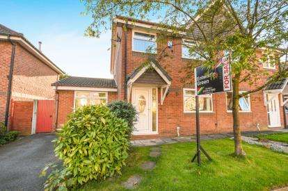 3 Bedrooms Semi Detached House for sale in Foxwood, St Helens, Merseyside, WA9