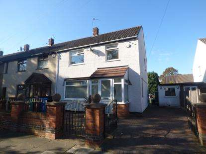 3 Bedrooms End Of Terrace House for sale in Southwick Road, Northern Moor, Manchester, Greater Manchester