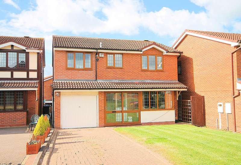 5 Bedrooms Detached House for sale in Slingsby, Dosthill, B77 1JS