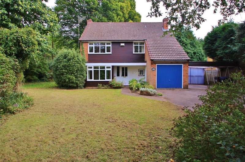 4 Bedrooms Detached House for sale in Kettlewell Drive, Horsell, Surrey, GU21