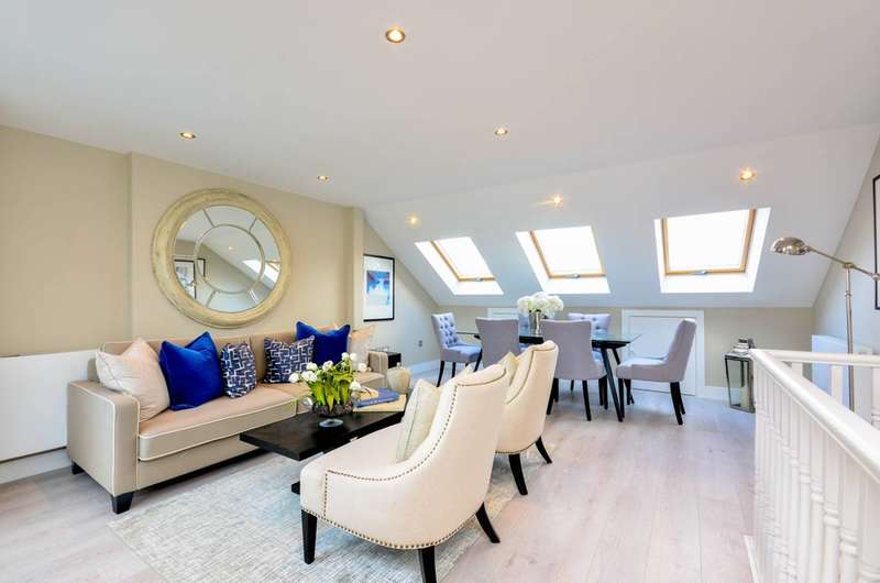 2 Bedrooms Flat for sale in Reporton Road, Fulham, SW6