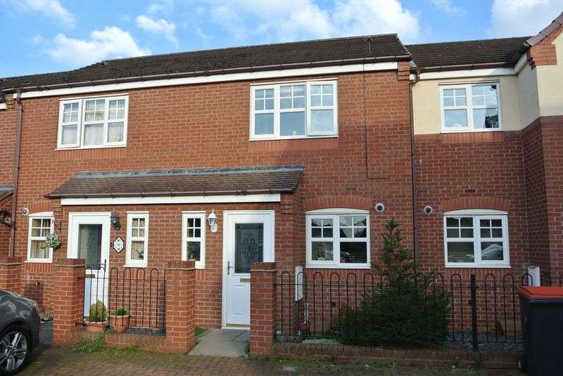 2 Bedrooms Terraced House for sale in Marlborough Road, Hadley, Telford, Shropshire.
