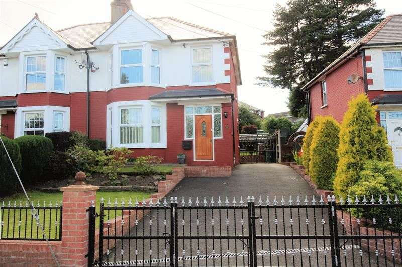 3 Bedrooms Semi Detached House for sale in Maesderwen Road, Pontymoile