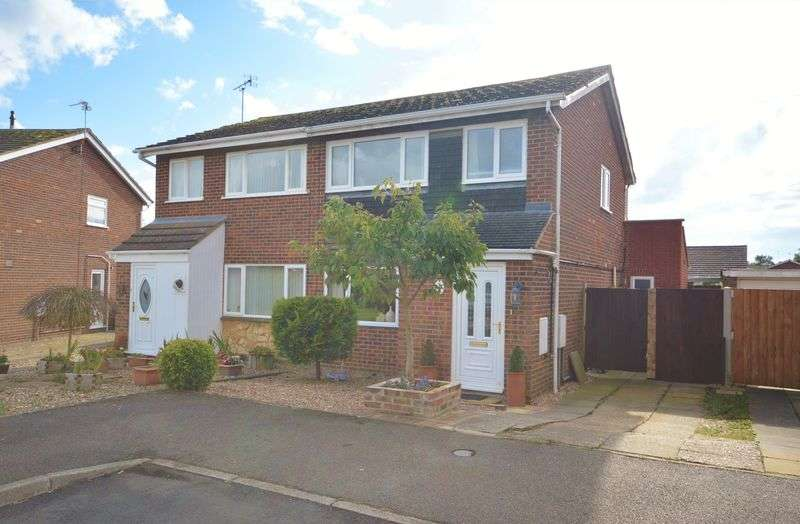 3 Bedrooms Semi Detached House for sale in Spendlove Drive, Gretton