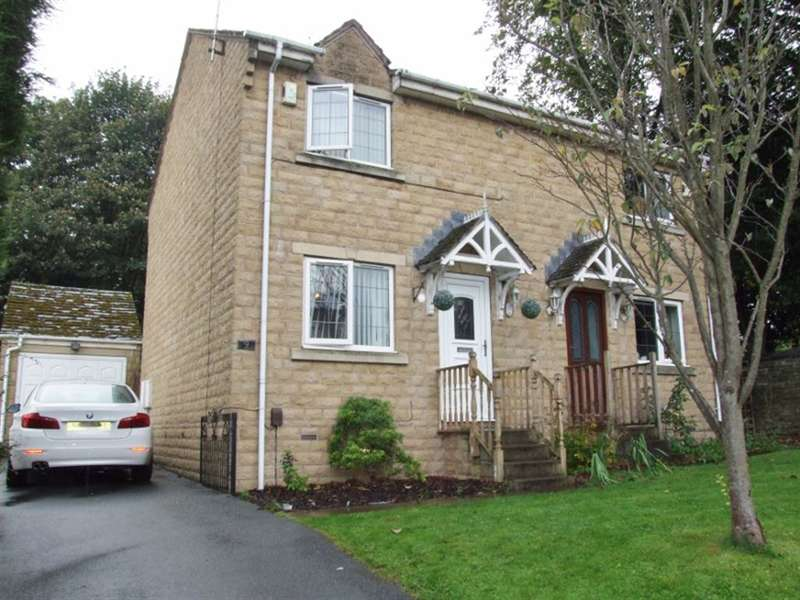 2 Bedrooms Semi Detached House for sale in St Georges Road, Lee Mount, Halifax, HX3 5BU
