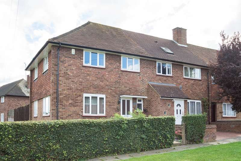 3 Bedrooms End Of Terrace House for sale in Carlton Avenue, Feltham, TW14