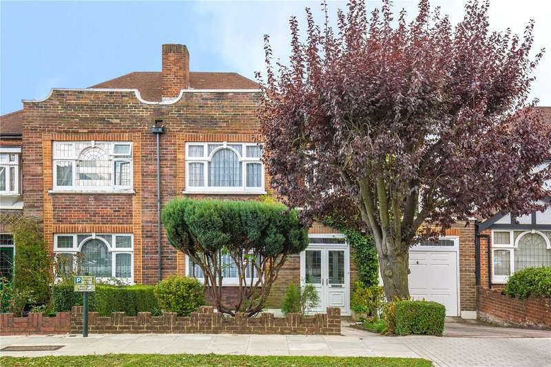 3 Bedrooms Semi Detached House for sale in Abbots Gardens, East Finchley, London, N2