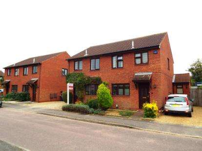 3 Bedrooms Semi Detached House for sale in Larkins Close, Baldock, Hertfordshire