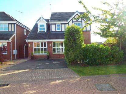 4 Bedrooms Detached House for sale in Belgravia, Court, Widnes, Cheshire, WA8