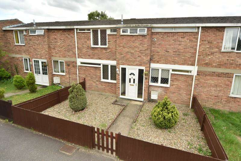 3 Bedrooms Terraced House for sale in Clare Close, Mildenhall, Bury St. Edmunds
