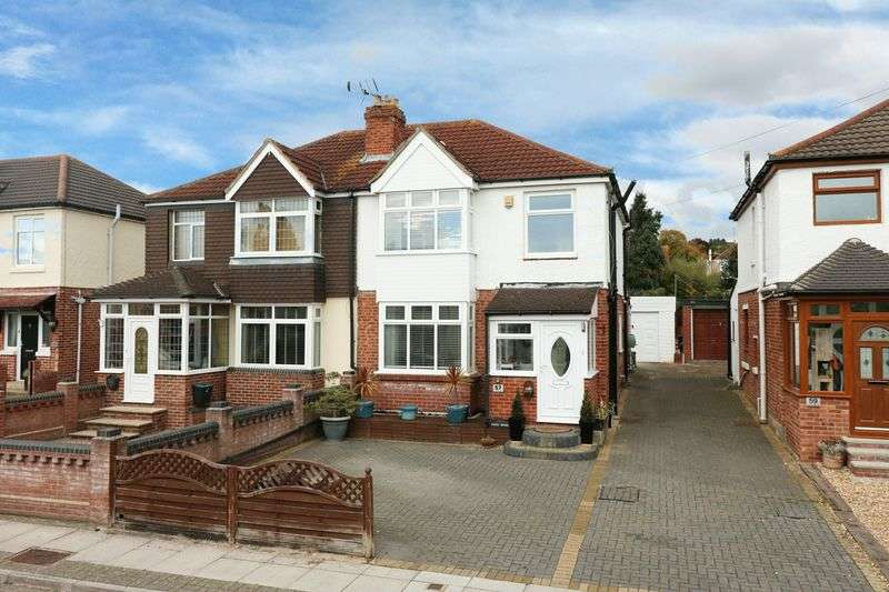 3 Bedrooms Semi Detached House for sale in First Avenue, Farlington