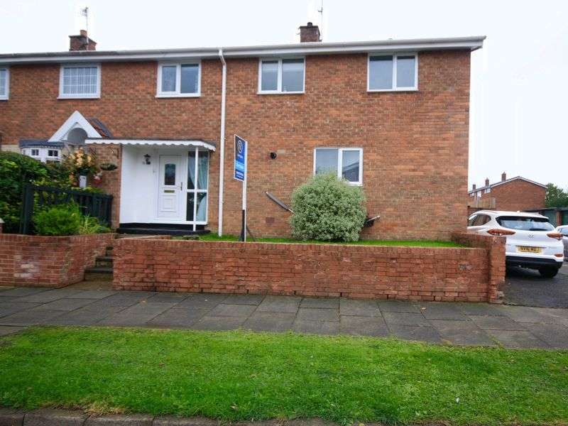 3 Bedrooms Terraced House for sale in Eden Road, Newton Aycliffe