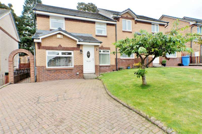4 Bedrooms Semi Detached House for sale in Malcolm Gardens, Springbank Gardens, EAST KILBRIDE