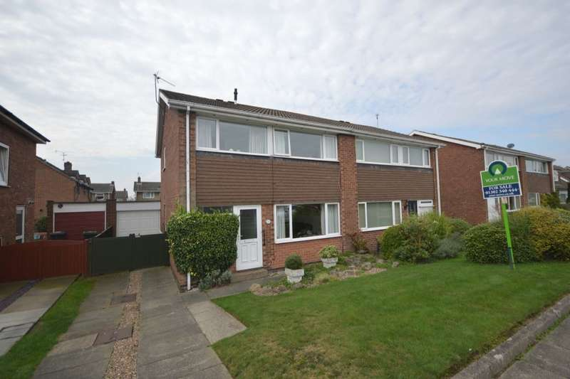 3 Bedrooms Semi Detached House for sale in Stoops Road, Bessacarr, Doncaster, DN4