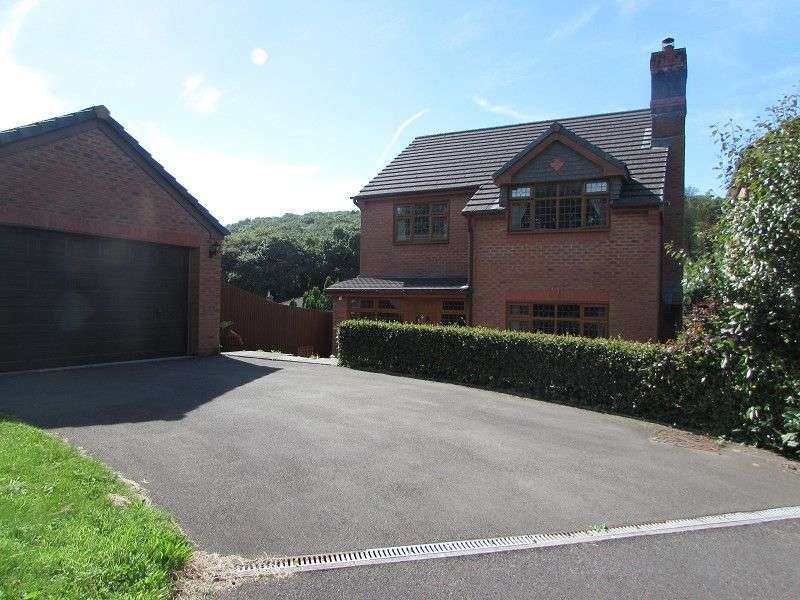 4 Bedrooms Detached House for sale in Tywod Vale, Pencoed, Bridgend. CF35 6LP