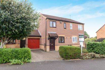 2 Bedrooms Semi Detached House for sale in St. Davids Drive, Evesham, Worcestershire