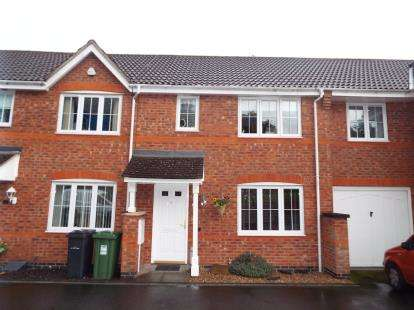 3 Bedrooms Terraced House for sale in Harris Close, Redditch, Worcestershire