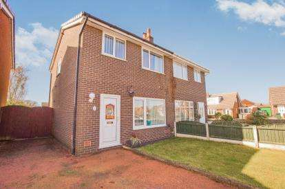 3 Bedrooms Semi Detached House for sale in Bredon Avenue, Euxton, Chorley, Lancashire