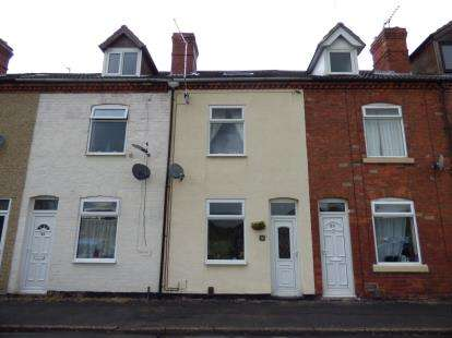 3 Bedrooms Terraced House for sale in Sleights Lane, Pinxton, Nottingham, Nottinghamshire