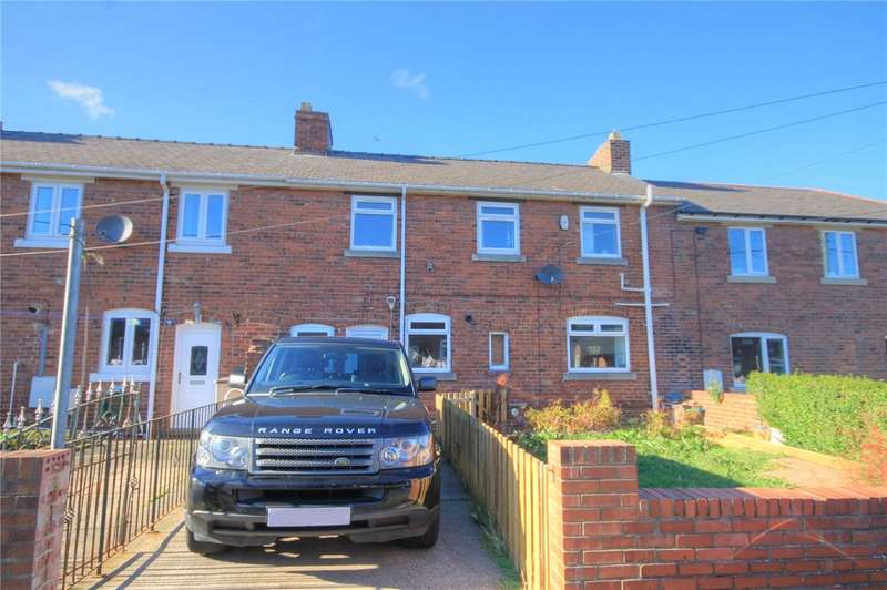 3 Bedrooms Terraced House for sale in Pemberton Terrace North, Craghead, Stanley, DH9